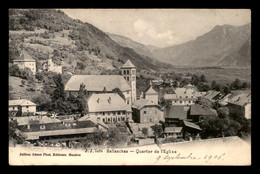 74 - SALLANCHES - QUARTIER DE L'EGLISE - Sallanches