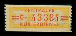 DDR ZKD 1958 Nr 17C Gestempelt (401364) - Dienstzegels