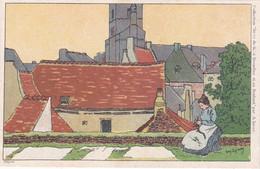 A.Lynen - No 3 Tricoteuse - Nivelles - 1900-1949