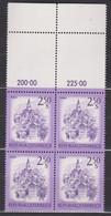1974 , Mi 1441 ** (20) -  4er Block Postfrisch - Freimarke : Schönes Österreich , Murau , Steiermark - 1971-80 Ongebruikt