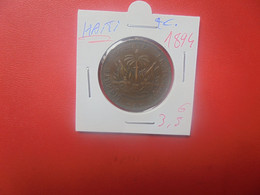 HAITI 2 Centimes 1894 (A.14) - Haiti