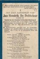 20 08 AL/10//   °  TERNATH 1904 + 1913   JAN DE DOBBELEER - Godsdienst & Esoterisme