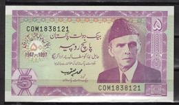 BILLET DE BANQUE PAKISTAN 5 RUPEES 1997 PICK 44 NEUF UNC - Pakistan