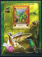 Bloc Sheet Oiseaux Colibris Birds Hummingbirds  Neuf MNH **  Guinee Guinea 2015 - Hummingbirds