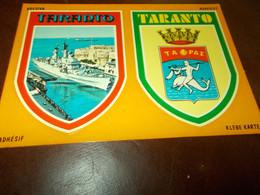 B792  Taranto Stemmi Non Viaggiata - Taranto