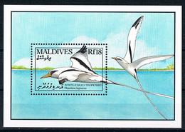Bloc Sheet Oiseaux  Sea Birds  Neuf  MNH ** Maldives 1990 - Other