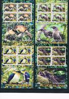Bloc Sheet  Oiseaux Birds WWF  Neuf MNH ** Cook Islands 2005 - Other