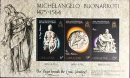 Gibraltar 1975 Michelangelo Booklet Pane MNH - Gibilterra