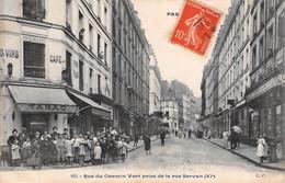PARIS XI E - Rue Du Chemin Vert Prise De La Rue Servan - Zonder Classificatie