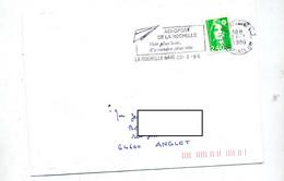 Lettre Flamme La Rochelle Aeroport - Annullamenti Meccanici (pubblicitari)