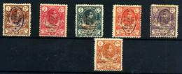 Guinea Española Nº 72/5, 77, 83. Año 1911 - Guinea Spagnola