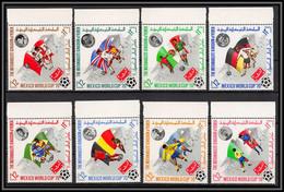 Yemen Royaume (kingdom) - 4185a/ N°979/986 A  World Cup Mexico 1970 Stadium Football Soccer Neuf ** MNH - 1970 – Mexico