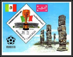 Yemen Royaume (kingdom) - 4179/ N°191 A World Cup Mexico 1970 Stadium Football Soccer Neuf ** MNH - 1970 – Mexico