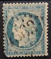 CERES No 60 Obl GC 4363 Bureau Supplémentaire  De AGONAC ,  Dordogne,  Indice 17, BTB Peu Courant - 1871-1875 Cérès