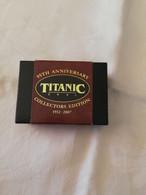 Véritable Charbon Du Titanic Provenant De L'expédition De 1994-Boîte Collector(95e Anniversaire Naufrage) - Passagiersschepen