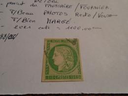 TP/CLASSIQUE N° 2 T/BEAU  (lire Descriptif  FAUX DE FOURNIER ) )  ++ 5 Photos  Recto/Verso - 1849-1850 Ceres