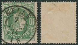 """émission 1869 - N°30 Obl Double Cercle """"Melle"""". TB / Collection Spécialisée. - 1869-1883 Leopoldo II"""