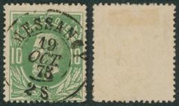 """émission 1869 - N°30 Obl Double Cercle """"Messancy"""" / Collection Spécialisée. - 1869-1883 Leopold II"""