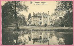 C.P. Quiévrain =    Château De M.  GOUVION - Quiévrain
