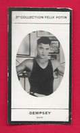 Photographie Argentique Félix Potin - 3ème Collection - Boxeur Jack Dempsey - Félix Potin