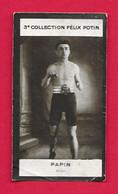 Photographie Argentique Félix Potin - 3ème Collection - Boxeur Papin - Félix Potin