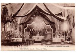CPA Thivet (52) L'intérieur De L'église Le 11 Août 1932 - - Sonstige Gemeinden