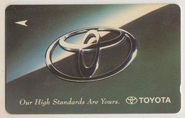 Singapore Old Phonecard  Used Toyota - Stagioni