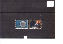 Europa 1980 Yougoslavie - Personnage Célèbre - Relief Sur Médaille D' Anton Augustinac - Peinture Par J. Prudnikov - 1980