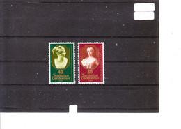 Europa 1980 Liechtenstein - Personnages Célèbres - Maria Léopoldine - Maria Theresia De Liechtenstein - 1980