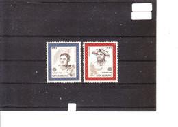 Europa 1980 Saint-Marin - Personnages Célèbres - Giovanbattista Belluzi (Architecte Militaire) - Antonio Orafo - 1980