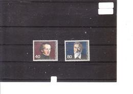 Europa 1980 Suisse - Personnages Célèbres - Johann Konrad Kern (Homme Politique) - Gustav Adolf Hasler (Inventeur) - 1980