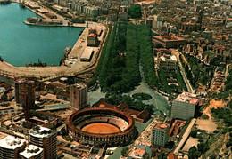 CPM - MALAGA - Vues Panoramiques Sur Les Arènes ... Lot De 4 Cartes A Saisir - Málaga
