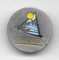 Jeton De Caddie  Voyage, Transport  GRISEL   Recto  Verso - Einkaufswagen-Chips (EKW)