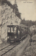 CPA  Le TRAM – Ligne Nyon - St.Cergue - VD Waadt