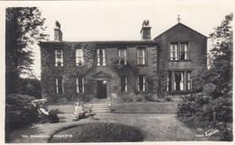 Postcard The Parsonage Haworth [ Bronte Interest ] RP By Walter Scott My Ref B14482TB - Altri