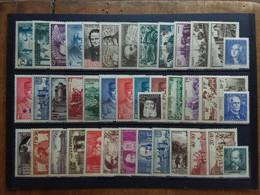 FRANCIA - Lotticino Anni '30/'40 Nuovi */** (5 Valori Senza Gomma) + Spese Postali - Neufs