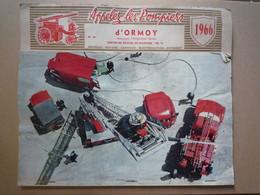 Calendrier 1966 - Pompiers D'Ormoy / Centre De Secours De Migennes (Yonne) - Tamaño Grande : 1961-70