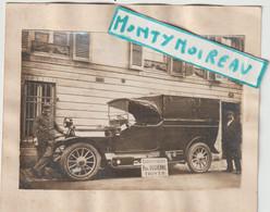 Bru 14 , V P :  Aube - Troyes : Carosserie Paul Duchenne :  Photo  Sur Carton  Env. 13 Par 11 Cm , Automobile - Documenti Storici