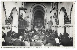 """51 - LOISY EN BRIE ? - Carte Photo Messe Dans L'Eglise (prêche Du Curé) - Voir Paragraphe """"Description"""" - Autres Communes"""