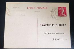 Haute Loire St Julien Molhesabate 1958 Carte Publicitaire Pour Panneau Affichage Municipal - Zonder Classificatie