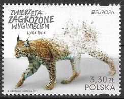 2021 Polen   Mi. 5291 **MNH   Europa: - 2021