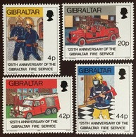 Gibraltar 1990 Fire Service MNH - Gibilterra