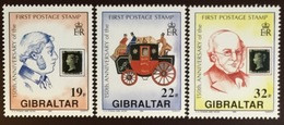 Gibraltar 1990 Penny Black Anniversary MNH - Gibilterra