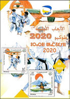 ALGERIA 2021- Leaflet Olympic Games Tokyo JO Olympics Olympische Spiele Jeux Olympiques Japan Karate - Canoeing - Summer 2020: Tokyo