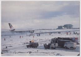 Mount Pleasant Airport Falkland Islands War Avion British Airways Red Cross Military Truck Army Aéroport Croix-Rouge - Aérodromes