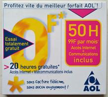 - Kit De Connexion Internet - AOL - Envoyé Par La Poste - - Kit Di Connessione A  Internet