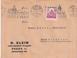 BOHEME ET MORAVIE 1940 LETTRE DE PRAG - Lettres & Documents
