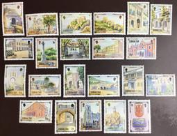 Gibraltar 1993-95 Complete Architectural Heritage Definitives Set MNH - Gibilterra