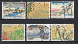 Japon 1997 8 SÉRIES TIMBRES OBLITÉRÉ Lot 24 08 2 - Non Classés