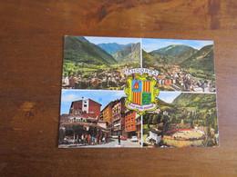 15 VALLS D'ANDORRA - Vue Générale D'Andorre La Vieille - Entrée De La Ville - Les Arènes - Andorre